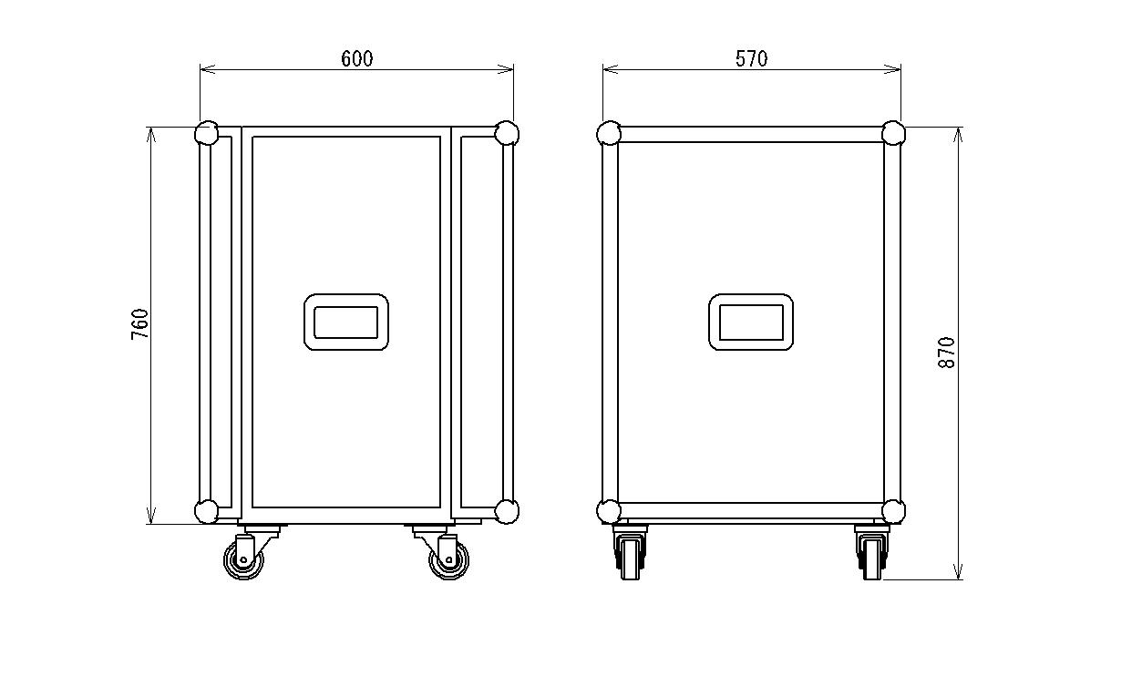 航空配电箱(rf-lh-*-*) 功率/电流(kw/a) 40kw/80a 50kw/100a 100kw