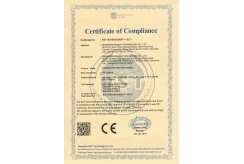 Certificate of CompIiance